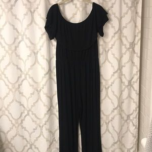 Dresses & Skirts - Off the shoulder cotton jumpsuit